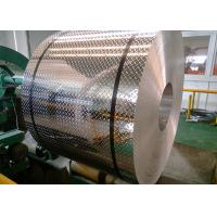 China Weldable 5052 Diamond Plate Aluminum Sheets 1.0 - 8.0 Mm Thickness For Nameplates on sale