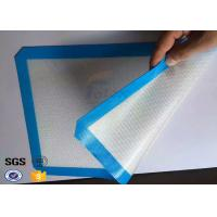 China Reusable Fiberglass Non Stick Silicone Baking Mat Silicone Oven Liner on sale