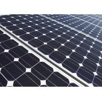Quality Wind Resistance Mono Solar Panels Tempered Glass 20 Years Warranty wholesale