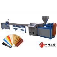 Furniture Automatic Edge Banding Plastic Packing Strip Machine  4-6m/min Produce Speed