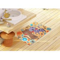 Quality 3d Printing Kids Floor Rugs With Non-slip Backing / Childrens Bedroom Mats wholesale