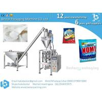 Quality washing powder packing machine how to make pouch handle hole wholesale