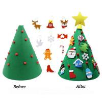 Cheap 70cm Height DIY Handcrafted Christmas Decorations Home Artificial Tree Ornaments for sale