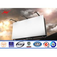 China High Bright Steel Outdoor Billboard Advertising Structure Full Color Outside LED Billboard on sale