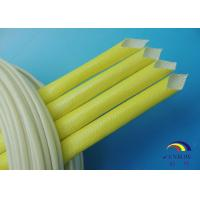 Insulation Acrylic Fiberglass Sleeving / Sleeves Wear Resistance and Eco-friendly