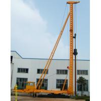 Quality DCB60-15 Hydraulic Walking Compaction Hammer Pile Driver with Steel Sunken Tube wholesale
