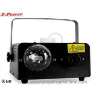 Quality Disco LED Smoke Machine With 3 * 3W Red / Green / Blue LED Ball  For Party X-02 wholesale