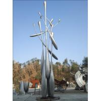 Quality Metal Handmade Large Outdoor Sculpture Statues Stainless Steel Plaza Decoration wholesale