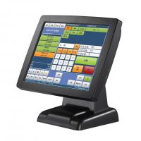 China Stand High Resolution Retail Point Of Sale Systems With Black Barcode Scanner on sale