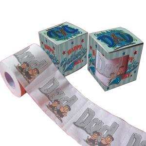 Quality printed toilet paper funny  2ply  250 sheets 100% virgin pulp custom hemp toilet paper wholesale