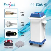 Quality Newest CE FDA approved top popular portable 1064nm 532nm q-switched nd yag pigmentation removal laser machine for sale wholesale