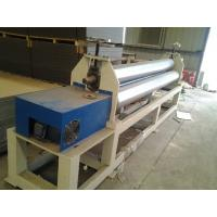 Quality 120kw Plastic Auxiliary Equipment 3 Roller Rolling Plate Leveling Machine / Spiral Coil Winding Machine wholesale