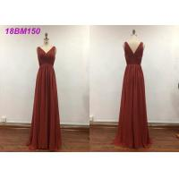 Quality Pretty A Line Wedding Bridesmaid Dresses With Embroidery Decoration Water Soluble wholesale