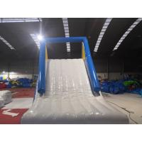 Quality Water Park Giant Inflatable Slide / Blow Up Water Slide For Inground Pool wholesale