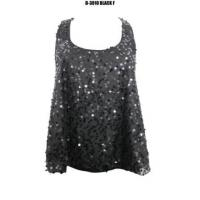China Sequins Sewing Tank Top on sale