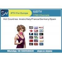 Quality Netherland Language IUDTV suppport 1700 channels for quad core x96 android tv box with 1080p wholesale