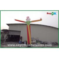 China 6m Colorful Inflatable Air Dancer Advertising inflatable Wave Man on sale