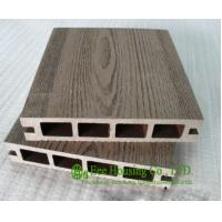 China Wood Plastic Composite Flooring, Outdoor WPC decking For Balcony, Easy Installation and Environmental Friendly on sale