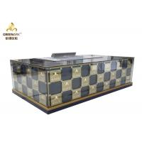 Quality Rectangle Shape Japanese Teppanyaki Grill Table 8 Seats Stainless Steel wholesale
