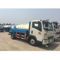 China SINOTRUK HOWO Light truck Water Tank Truck 5-8CBM For Road Flushing on sale