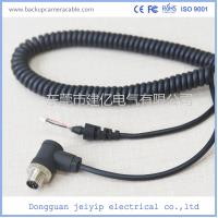 Quality 5 Pin Black Color Backup Camera Cable Rear , View Camera Cable Waterproof wholesale