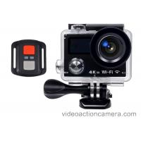 Quality 4K WIFI Waterproof Action Camera Full Hd 1080p With Allwinners V3 Chip wholesale