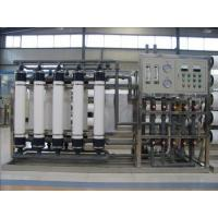 Cheap Purified Drinking Water Machine , Water Processing Machine UF Membrane for sale