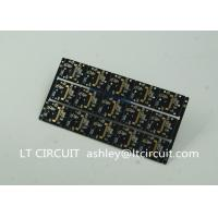 Quality Gold Plating Custom Pcb Manufacturing Black Soldering With IC Lead BGA wholesale