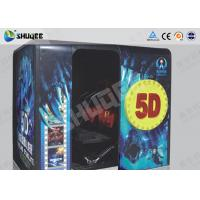 Quality Electronic Red / Black 5D Movie Theater Kino With More Than 500 Pecice Films wholesale