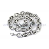 Quality Custom Specialty Hardware Fasteners , Welded SUS316 Stainless Steel Twisted Link Chain DIN 764 wholesale
