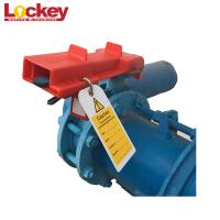 Quality Durable ABS Safety Oversize Butterfly Valve Lockout Tagout Locks Longlife wholesale