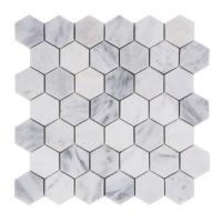 Quality premium colorful Hexagon Stone Mosaic Tile For Bathroom Remodeling wholesale