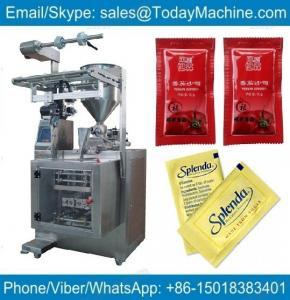 China automatic machines skin packing machine automatic hot sauce filling machine on sale