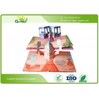 Quality Recycled Eco Friendly Kids Pop Up Books , Paperboard Perfect Binding Amazing Pop Up Books wholesale