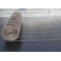 China 316 Grade Flat Flex Stainless Steel Wire Mesh Conveyor Belt For Bakery on sale