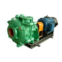 Quality Large Flow Capacity Sand Slurry Pump For Gold Mining / Coal Washing / Tailing wholesale