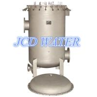 Cheap Big Carbon Steel Multimedia Water Filter For Carbon Treatment , Bead Blasted for sale