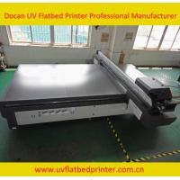 Quality wide format indoor uv flatbed printer with Konica1024 printhead wholesale