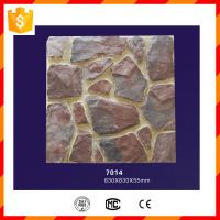 Quality PU polyurethane light weight faux stone panel for home decorations wholesale