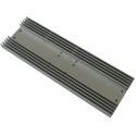 Rectangle Radiator Aluminium Heat Sink Profiles For Consumer Electronics for sale