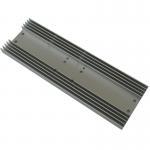 Quality Rectangle Aluminum Heatsink AL6063  Extrusion Profile Radiator for Consumer Electronics wholesale