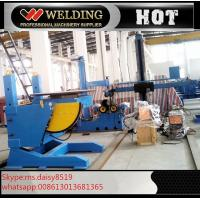 Lifting Height Adjustable Pipe Welding Rotary Positioner High Precision 300kg Manual Revolve