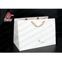 Quality Hot Foil Stamping Christmas Gift Custom Printed Paper Bags Eco Friendly Feature for sale