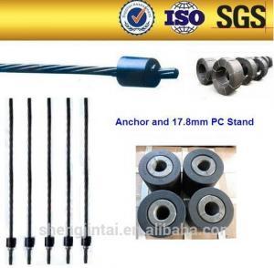 12.7 15.2mm Prestressed Steel Wire Anchorage / anchor milk powder