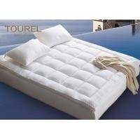 China King Size Waterproof Hotel Mattress Protector Anti Bed Bugs Soft on sale