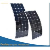 Quality For motor home Flexible solar panel 100W high efficiency USA cell wholesale