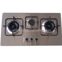 China Tempered glass 3 powerful&durable burner built-in gas burner/gas cooktop on sale