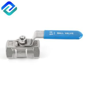 China A216 Stainless Steel Npt Ball Valve Male Thread High Pressure on sale