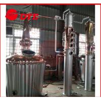 Quality Commercial Distilling Equipment Pear Head , Copper Stills For Moonshine wholesale