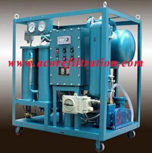 Quality DVTP100 Double Stages Vacuum Transformer Oil Purification Plant wholesale